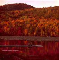 FALL ON THE GATINEAU RIVER