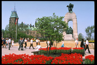 The National War Memorial at Confederation Square